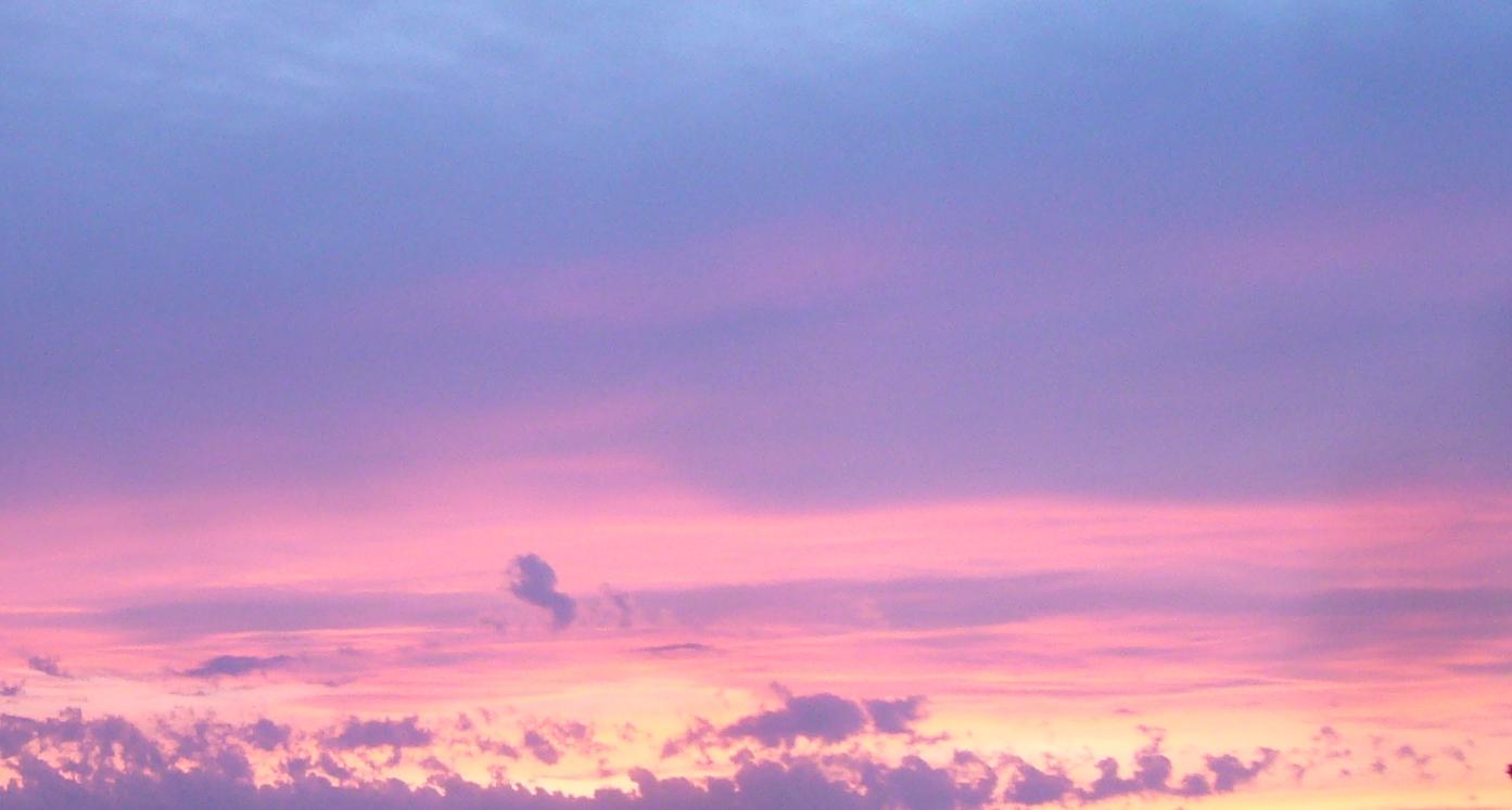 Bild eines Sonnenuntergangs