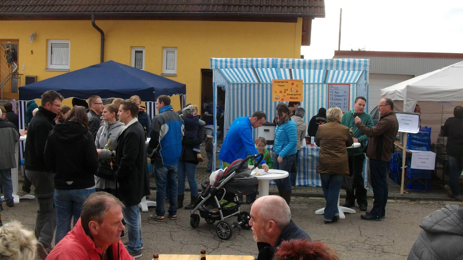 Markt in Fluorn
