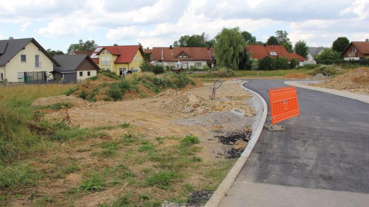 Bauplatz im Baugebiet Auhalde