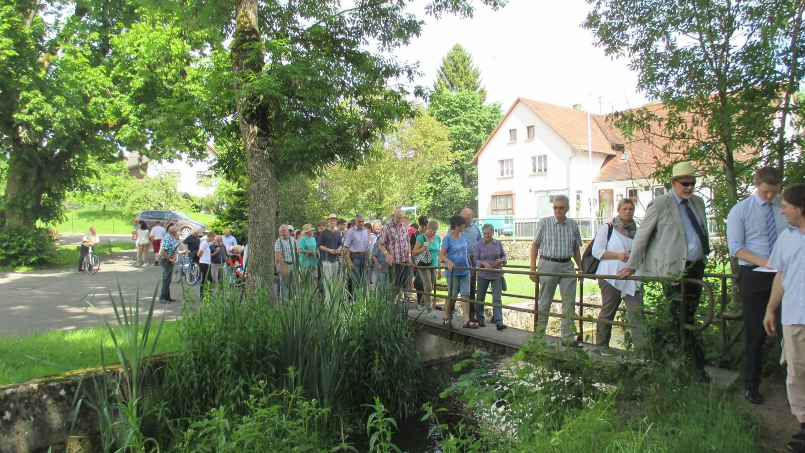 Bild vom Dorfspaziergang in Winzeln