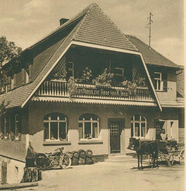 Bild des Hauses Rose im Jahr 1942