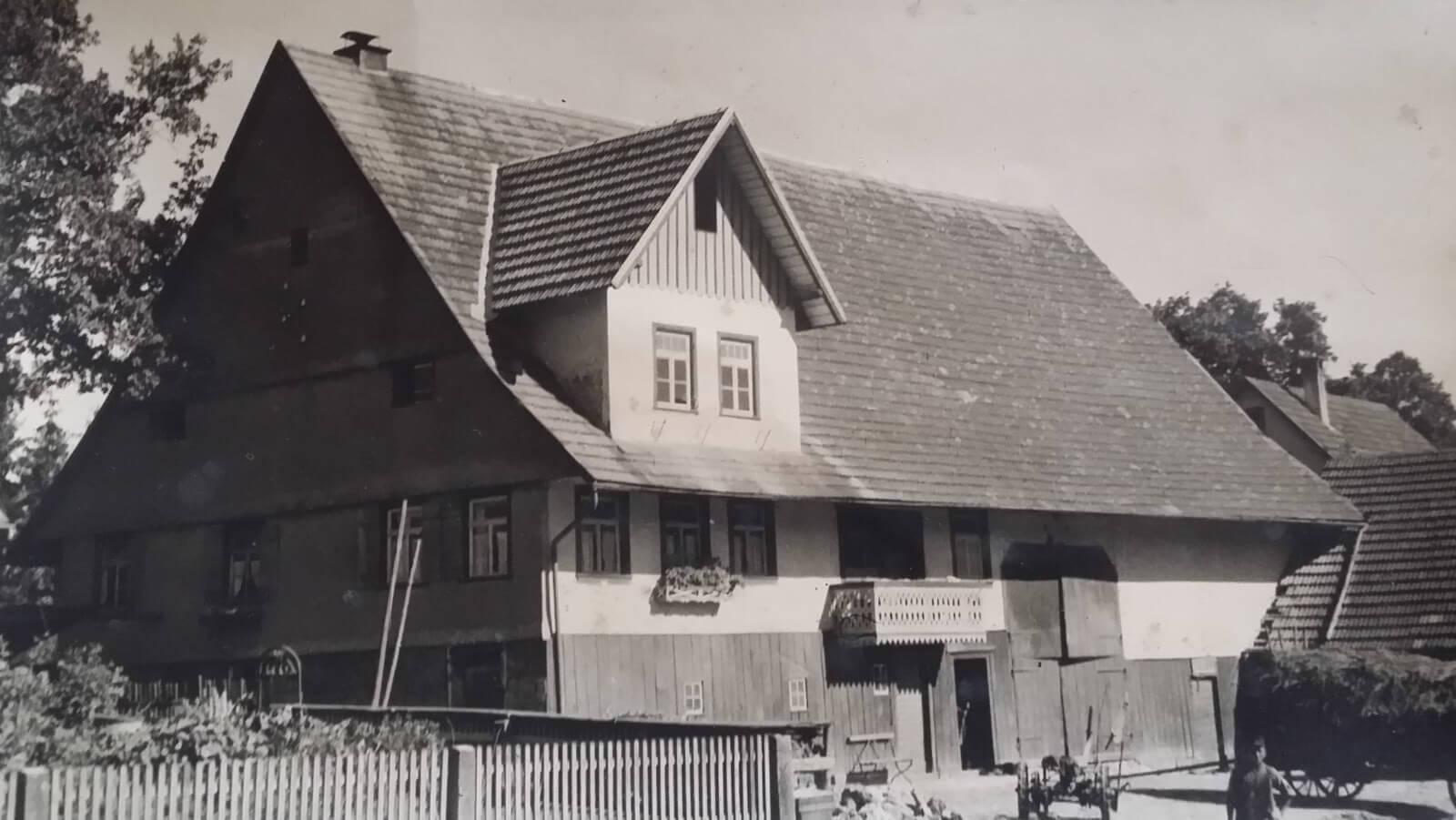 Bild vom Haus SNeubaura von früher