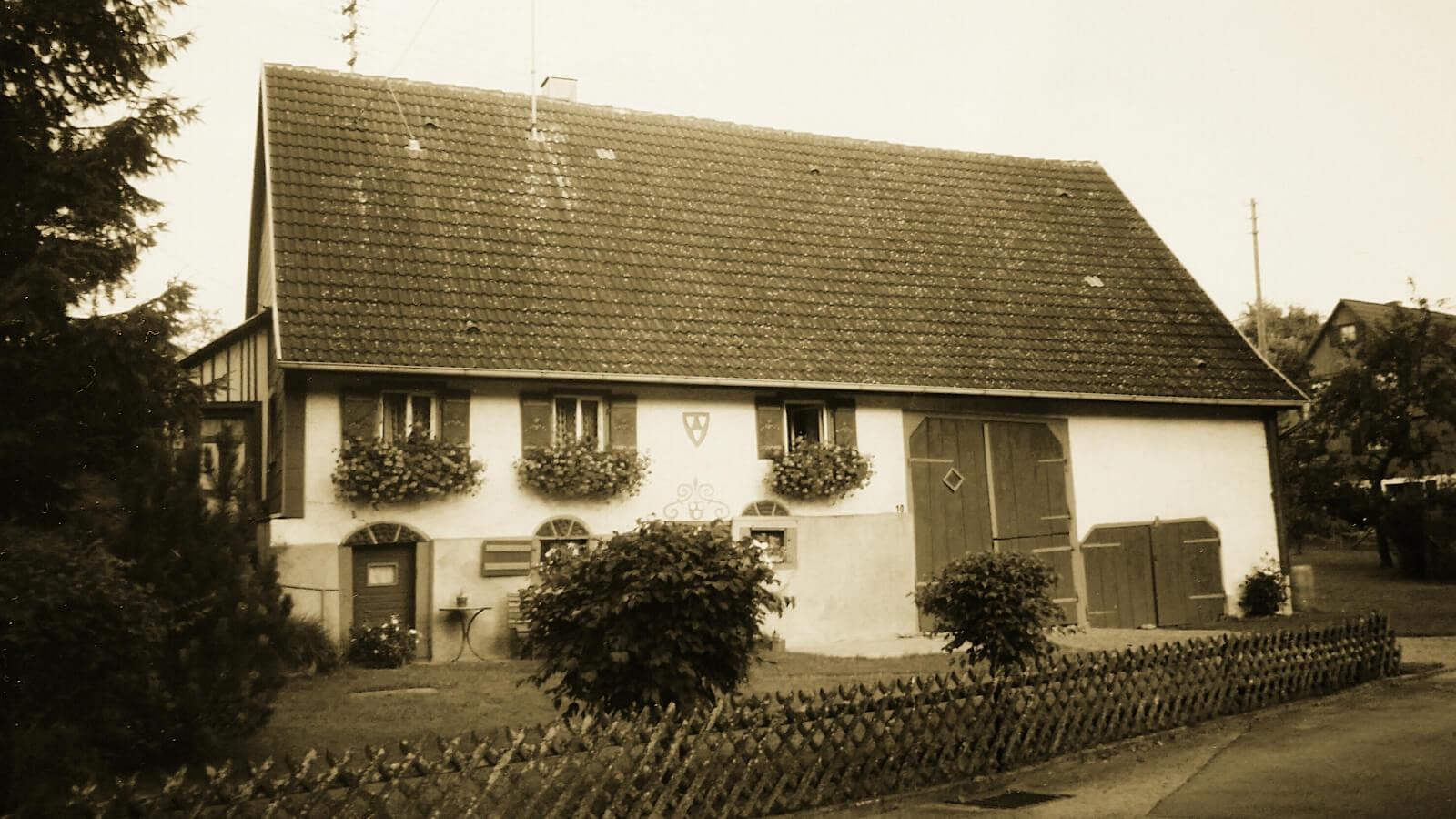 Bild vom Haus Botta früher