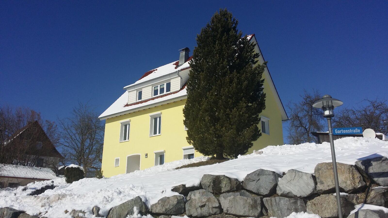 Bild des ehemaligen Polizei-Landsitzgebäudes