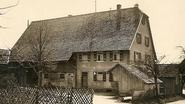 Haus der Familie Heim früher