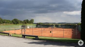 Bild der Tennisplätze in Fluorn-Winzeln