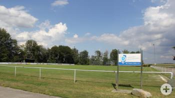 Bild des Sportplatzes in Fluorn
