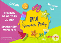 SVW Sommer-Party 2019