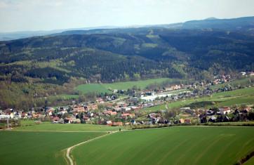 Luftbild von Obercarsdorf