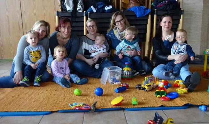Bild von Müttern mit Kindern