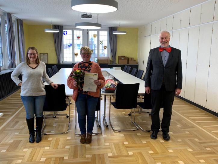 Bild von Ingrid Blessing, Stefanie Grumbach und Bernhard Tjaden