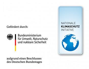 Logo der Nationalen Klimaschutzinitiative und des Bundesministeriums für Umwelt, Naturschutz und nukleare Sicherheit